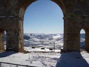 Arco y nieve